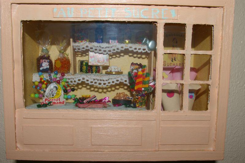scrap et vitrines miniatures les vitrines miniatures. Black Bedroom Furniture Sets. Home Design Ideas