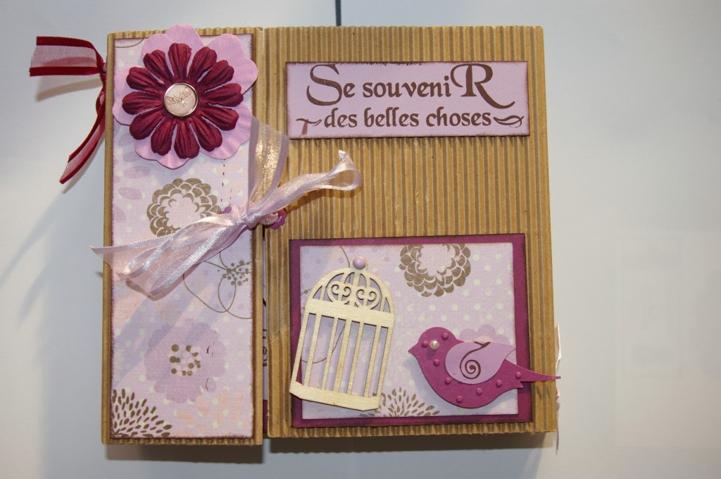 Scrap Et Vitrines Miniatures Mini Album