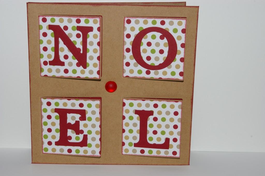 Assez Scrap et vitrines miniatures » Une carte de noël HZ09